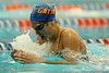 Florida junior Sarra Lajnef competes in the women's 400-yard IM during the Gators' meet against the Florida Atlantic Owls on Saturday, January 14, 2012 at the Stephen C. O'Connell Center Natatorium in Gainesville, Fla. / Gator Country photo by Tim Casey