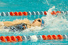 Florida senior Angelina Ballatore competes in the women's 200-yard backstroke during the Gators' meet against the Florida Atlantic Owls on Saturday, January 14, 2012 at the Stephen C. O'Connell Center Natatorium in Gainesville, Fla. / Gator Country photo by Tim Casey