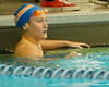 Florida senior Julia Nagy competes in the women's 200-yard freestyle during the Gators' meet against the Florida Atlantic Owls on Saturday, January 14, 2012 at the Stephen C. O'Connell Center Natatorium in Gainesville, Fla. / Gator Country photo by Tim Casey