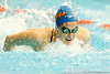 Florida freshman Lauren Neidigh competes in the women's 200-yard butterfly during the Gators' meet against the Florida Atlantic Owls on Saturday, January 14, 2012 at the Stephen C. O'Connell Center Natatorium in Gainesville, Fla. / Gator Country photo by Tim Casey