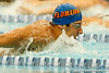 Florida freshman Carlos Omana competes in the men's 400-yard IM during the Gators' meet against the Florida Atlantic Owls on Saturday, January 14, 2012 at the Stephen C. O'Connell Center Natatorium in Gainesville, Fla. / Gator Country photo by Tim Casey