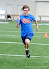 "Twenty-two local runners compete in a 40-yard sprint  for the title of ""Fastest Gator"" on Monday, April 2, 2009 in Gainesville, Fla. Jeff Mesadieu won the preliminary race with a 4.42 time. / Gator Country photo by Casey Brooke Lawson"