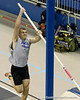 Kurt Lee (unattached) competes in the pole vault during the Gator Invite indoor track meet on Sunday, January 22, 2012 at the Stephen C. O'Connell Center in Gainesville, Fla. / Gator Country photo by Tim Casey