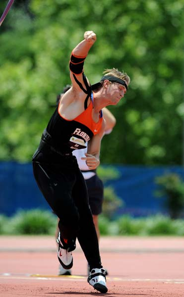 SEC athletes compete in the SEC Championships on Saturday, May 16, 2009 in Gainesville, Fla. at Percy Beard Track at James G. Pressly Stadium. / Gator Country photo by Casey Brooke Lawson