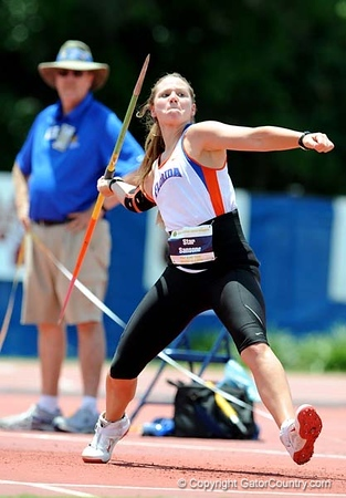 SEC athletes compete in the SEC Championships on Sunday, May 17, 2009 in Gainesville, Fla. at Percy Beard Track at James G. Pressly Stadium. / Gator Country photo by Casey Brooke Lawson