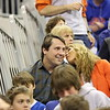 Coach Will Muschamp during Florida Gators (18-2, 8-0 SEC) win 78-64 against Ole Miss Rebels (17-4, 6-2 SEC) on Saturday, Jan. 12, 2012, at the Stephen C. O'Connell Center in Gainesville, Fla. / Gator Country photo by John Parady