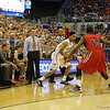 Mike Rosario during Florida Gators (18-2, 8-0 SEC) win 78-64 against Ole Miss Rebels (17-4, 6-2 SEC) on Saturday, Jan. 12, 2012, at the Stephen C. O'Connell Center in Gainesville, Fla. / Gator Country photo by John Parady