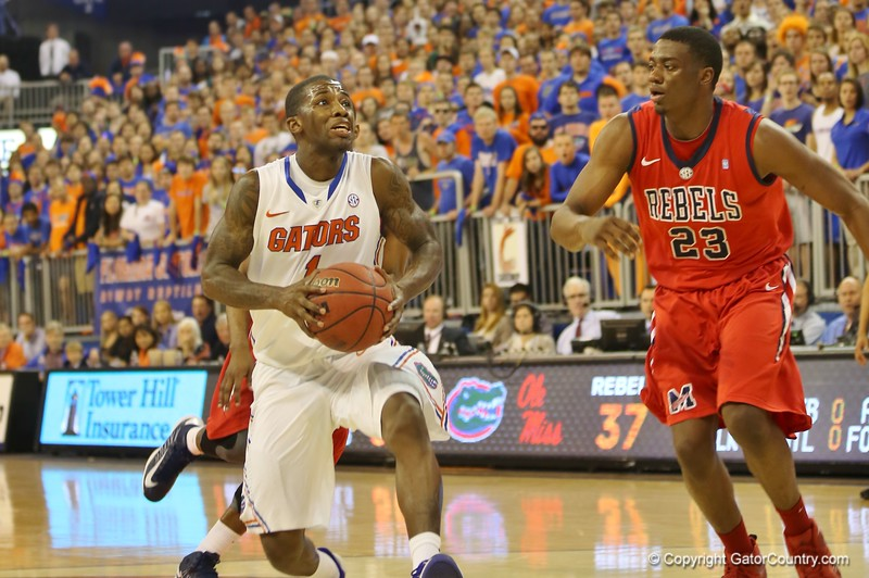 Kenny Boynton during Florida Gators (18-2, 8-0 SEC) win 78-64 against Ole Miss Rebels (17-4, 6-2 SEC) on Saturday, Jan. 12, 2012, at the Stephen C. O'Connell Center in Gainesville, Fla. / Gator Country photo by John Parady