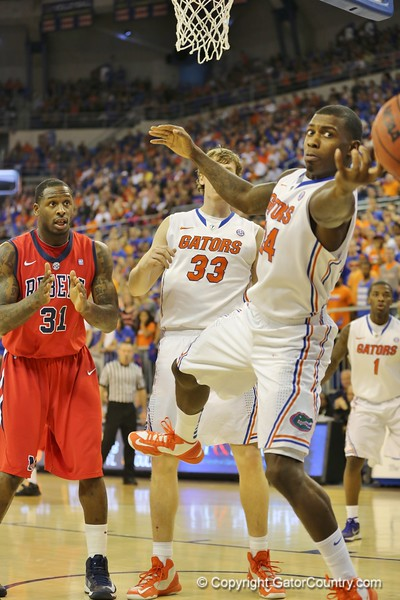 Casey Prather during Florida Gators (18-2, 8-0 SEC) win 78-64 against Ole Miss Rebels (17-4, 6-2 SEC) on Saturday, Jan. 12, 2012, at the Stephen C. O'Connell Center in Gainesville, Fla. / Gator Country photo by John Parady