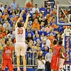 Erik Murphy during Florida Gators (18-2, 8-0 SEC) win 78-64 against Ole Miss Rebels (17-4, 6-2 SEC) on Saturday, Jan. 12, 2012, at the Stephen C. O'Connell Center in Gainesville, Fla. / Gator Country photo by John Parady