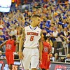 Scottie Wilbekin during Florida Gators (18-2, 8-0 SEC) win 78-64 against Ole Miss Rebels (17-4, 6-2 SEC) on Saturday, Jan. 12, 2012, at the Stephen C. O'Connell Center in Gainesville, Fla. / Gator Country photo by John Parady