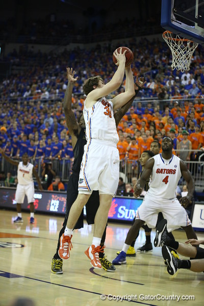 Erik Murphy during the Gators 83-52 win over Missouri on January 19, 2013 at the Stephen C O'Connell Center in Gainesville, Florida. Gatorcountry photo by Curtiss Bryant