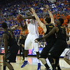 Patric Young during the Gators 83-52 win over Missouri on January 19, 2013 at the Stephen C O'Connell Center in Gainesville, Florida. Gatorcountry photo by Curtiss Bryant