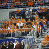 During the Gators 83-52 win over Missouri on January 19, 2013 at the Stephen C O'Connell Center in Gainesville, Florida. Gatorcountry photo by Curtiss Bryant