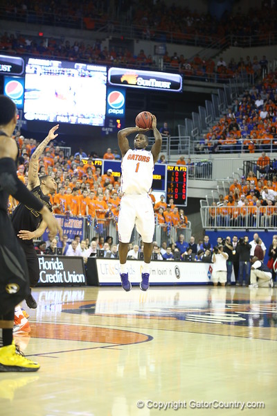 KEnny Boynton during the Gators 83-52 win over Missouri on January 19, 2013 at the Stephen C O'Connell Center in Gainesville, Florida. Gatorcountry photo by Curtiss Bryant