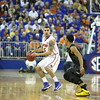 Scottie Wilbekinthe Gators 83-52 win over Missouri on January 19, 2013 at the Stephen C O'Connell Center in Gainesville, Florida. Gatorcountry photo by Curtiss Bryant