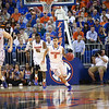 Scottie Wilbekin, Erik Murphy and Will Yeguete during Florida Gators 77-44 win against Georgia on Wednesday, January 9th, 2013, at the Stephen C. O'Connell Center in Gainesville, Fla. / GatorCountry photo by Curtiss Bryant