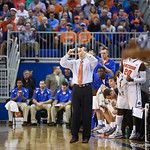 Coach Billy Donovan during Florida Gators 77-44 win against Georgia on Wednesday, January 9th, 2013, at the Stephen C. O'Connell Center in Gainesville, Fla. / GatorCountry photo by Curtiss Bryant