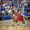 Will Yeguete during Florida Gators 77-44 win against Georgia on Wednesday, January 9th, 2013, at the Stephen C. O'Connell Center in Gainesville, Fla. / GatorCountry photo by Curtiss Bryant