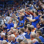 The crowd during Florida Gators 77-44 win against Georgia on Wednesday, January 9th, 2013, at the Stephen C. O'Connell Center in Gainesville, Fla. / GatorCountry photo by Curtiss Bryant