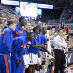 The Florida bench during Florida Gators 77-44 win against Georgia on Wednesday, January 9th, 2013, at the Stephen C. O'Connell Center in Gainesville, Fla. / GatorCountry photo by Curtiss Bryant