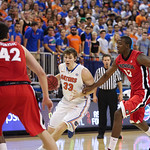 Erik Murphy duringFlorida Gators 77-44 win against Georgia on Wednesday, January 9th, 2013, at the Stephen C. O'Connell Center in Gainesville, Fla. / GatorCountry photo by Curtiss Bryant