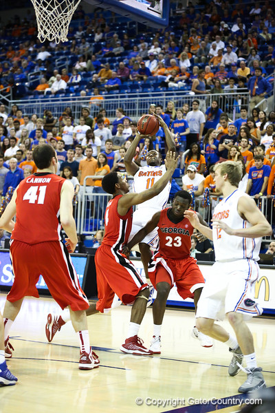 Braxton Ogbueze during Florida Gators 77-44 win against Georgia on Wednesday, January 9th, 2013, at the Stephen C. O'Connell Center in Gainesville, Fla. / GatorCountry photo by Curtiss Bryant