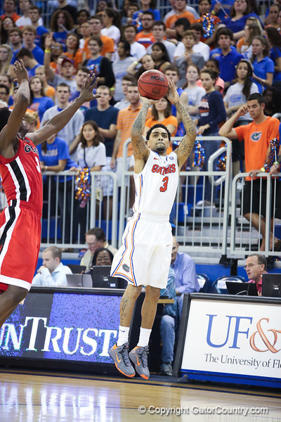 Mike Rosario during Florida Gators 77-44 win against Georgia on Wednesday, January 9th, 2013, at the Stephen C. O'Connell Center in Gainesville, Fla. / GatorCountry photo by Curtiss Bryant