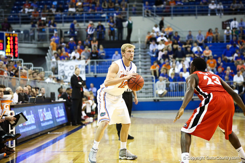 Dillon Graham during Florida Gators 77-44 win against Georgia on Wednesday, January 9th, 2013, at the Stephen C. O'Connell Center in Gainesville, Fla. / GatorCountry photo by Curtiss Bryant