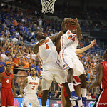 Casey Prather and Patric Young during Florida Gators 77-44 win against Georgia on Wednesday, January 9th, 2013, at the Stephen C. O'Connell Center in Gainesville, Fla. / GatorCountry photo by Curtiss Bryant