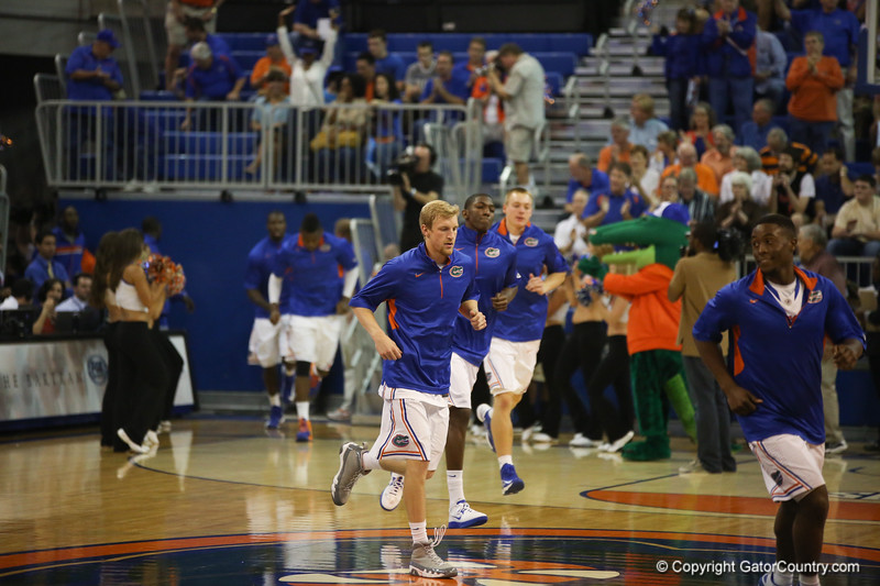 Florida Gators 77-44 win against Georgia on Wednesday, January 9th, 2013, at the Stephen C. O'Connell Center in Gainesville, Fla. / GatorCountry photo by Curtiss Bryant