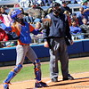 Freshman Aubree Munro during the Gators' 9-1 win against UNC Wilmington on Saturday, February 17, 2013, at Katie Seashole Pressly Stadium in Gainesville, Fla. / Gator Country photo by Danielle Bloch