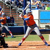Senior Kelsey Horton at bat during the Gators' 9-1 win against UNC Wilmington on Saturday, February 17, 2013, at Katie Seashole Pressly Stadium in Gainesville, Fla. / Gator Country photo by Danielle Bloch