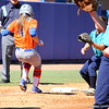 Sophomore Jessica Damico running back to third base during the Gators' 9-1 win against UNC Wilmington on Saturday, February 17, 2013, at Katie Seashole Pressly Stadium in Gainesville, Fla. / Gator Country photo by Danielle Bloch