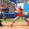 Sophomore Bailey Castro at bat during the Gators' 9-1 win against UNC Wilmington on Saturday, February 17, 2013, at Katie Seashole Pressly Stadium in Gainesville, Fla. / Gator Country photo by Danielle Bloch