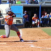 Soophomore Jessica Damico during the Gators' 9-1 win against UNC Wilmington on Saturday, February 17, 2013, at Katie Seashole Pressly Stadium in Gainesville, Fla. / Gator Country photo by Danielle Bloch
