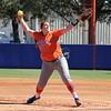 Pitcher Lauren Haeger during the Gators' 9-1 win against UNC Wilmington on Saturday, February 17, 2013, at Katie Seashole Pressly Stadium in Gainesville, Fla. / Gator Country photo by Danielle Bloch