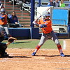 Sophomore Jessica Damico at bat during the Gators' 9-1 win against UNC Wilmington on Saturday, February 17, 2013, at Katie Seashole Pressly Stadium in Gainesville, Fla. / Gator Country photo by Danielle Bloch