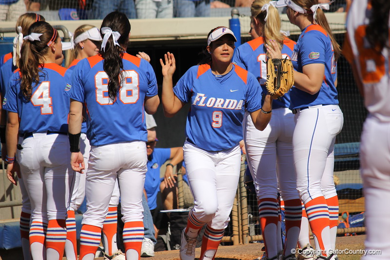 Starter Stephanie Tofft during the Gator's softball game against University of Tennessee on Saturday March 16, 2013, at Katie Seashole Pressly Stadium in Gainesville, Fla. / Gator Country photo by Danielle Bloch