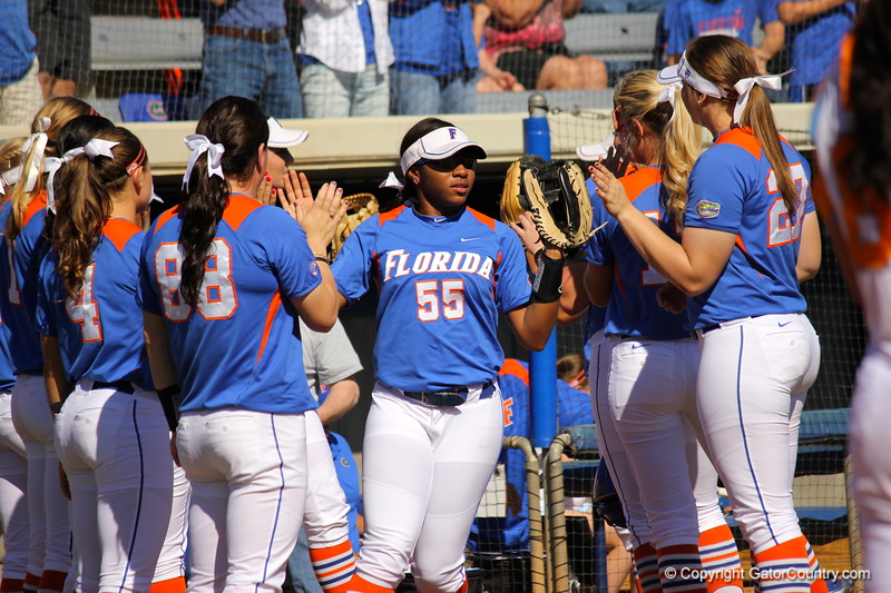 Starter Briana Little during the Gator's softball game against University of Tennessee on Saturday March 16, 2013, at Katie Seashole Pressly Stadium in Gainesville, Fla. / Gator Country photo by Danielle Bloch