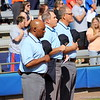The referees during the Gator's softball game against University of Tennessee on Saturday March 16, 2013, at Katie Seashole Pressly Stadium in Gainesville, Fla. / Gator Country photo by Danielle Bloch