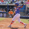 Sophomore Briana Little following threw on a swing during the Gator's softball game against University of Tennessee on Saturday March 16, 2013, at Katie Seashole Pressly Stadium in Gainesville, Fla. / Gator Country photo by Danielle Bloch