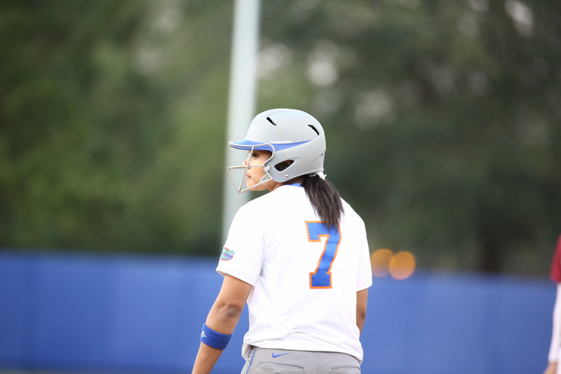 Keley Stewart during Florida's 7-3 win over Florida State on March 27, 2013 in Gainesville, Florida.
