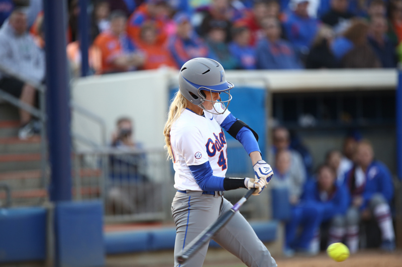 Taylor Schwarzduring Florida's 7-3 win over Florida State on March 27, 2013 in Gainesville, Florida.