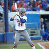 Kristi Merrit during Florida's 7-3 win over Florida State on March 27, 2013 in Gainesville, Florida.