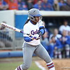 Briana Little during Florida's 7-3 win over Florida State on March 27, 2013 in Gainesville, Florida.