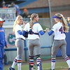 during Florida's 7-3 win over Florida State on March 27, 2013 in Gainesville, Florida.