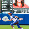 Kirsti Merritt taking off from second during the Florida vs Hampton game on May 17, 2013.
