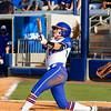 Kirsti Merritt at bat against Hampton on May 17, 2013.
