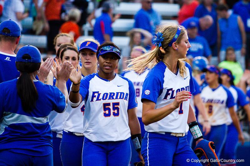 Florida wins 7-1 over Hampton on May 17, 2013.